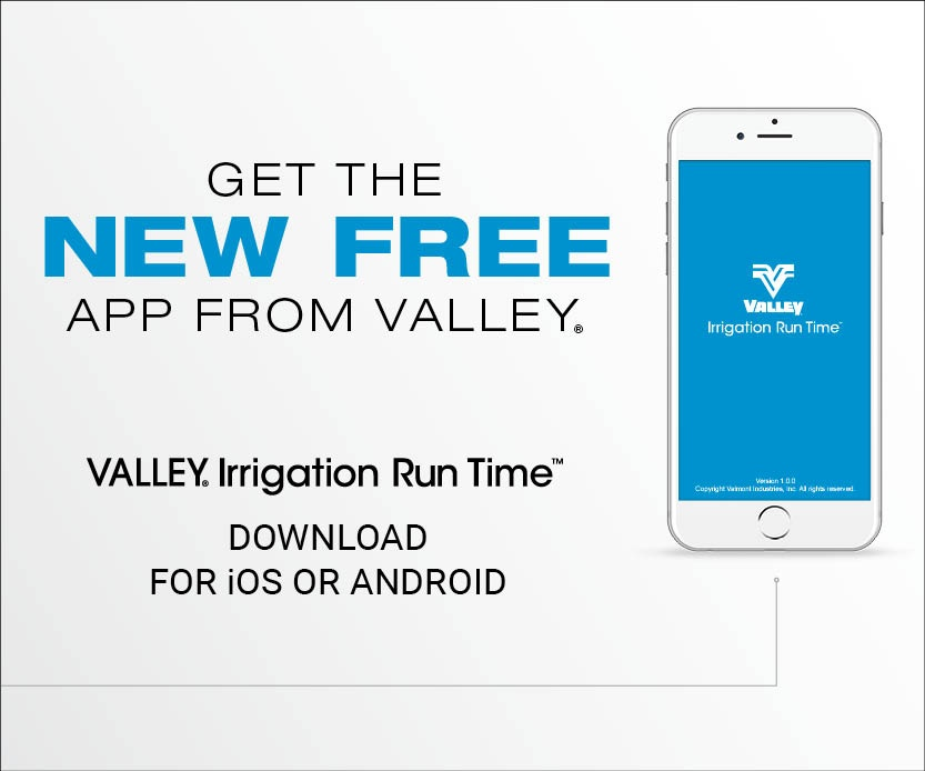 Valley Irrigation Run Time App - download app
